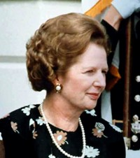 Margaret Thatcher in 1983, Source: Wikipedia Commons, Author:White House Photographic Office