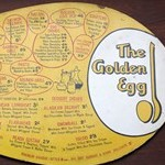 Golden Egg menu, 1960s