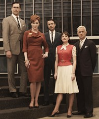 Mad men era fashion courtesy bbc4