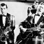 Bill Haley and his Comets (1955) (Wikimedia Commons, Mr. Klau Klettner)