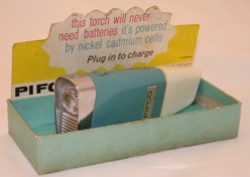 Pifco flashlight, 1964