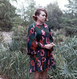 Flower motives became mainstream fashion in the late 60s