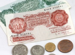 Pounds, shillings and pence