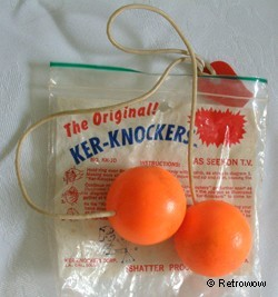 Klackers were a 70s craze