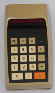 Texas Instruments TI 2500, 1973