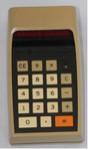 Texas Instruments TI-2500 Datamath calculator, 1973
