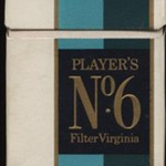 Players No6 packet, 1970s