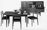 G-Plan Fresco dining suite, 1970 (image courtesy of High Wycombe Furniture Archive)