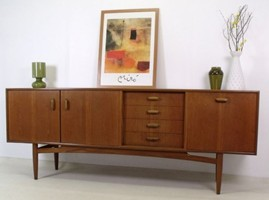 G plan sideboards for Retro 80s furniture