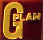 G-Plan label, 1975