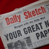 The last Daily Sketch, 11th May 1971