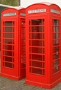 Red telephone box, a symbol of Swinging London