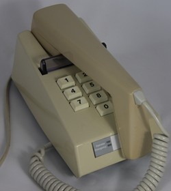 Push button Trimphone, GEC version, 1970s