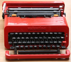 Vintage portable typewriters